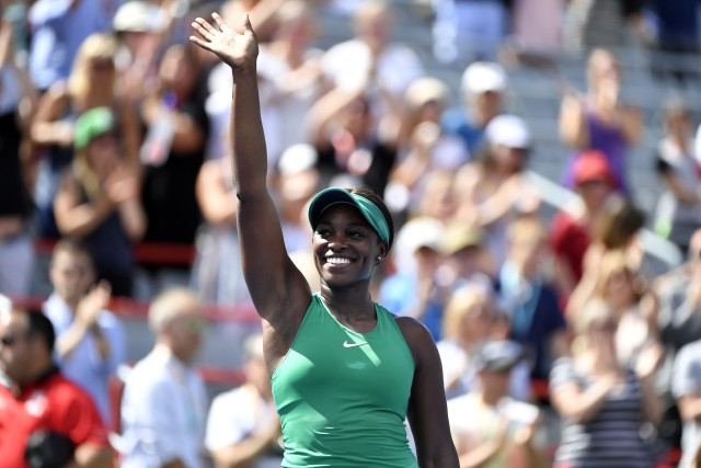 Sloane Stephens... (Photo Eric Bolte, USA TODAY Sports)