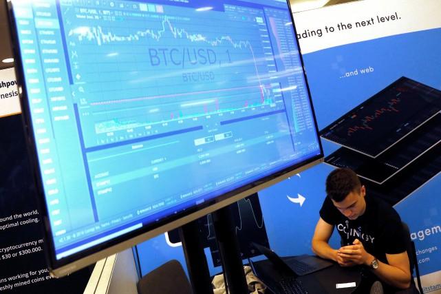 La technologie de la blockchain a déjà été... (REUTERS)