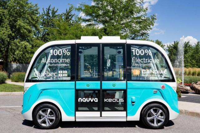Le véhicule roulera à une vitesse maximum de... (Photo Edouard Plante-Fréchette, La Presse)