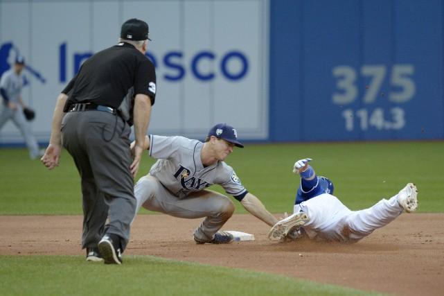 Les Rays (60-57) ont gagné trois matchs de... (Photo La Presse Canadienne)