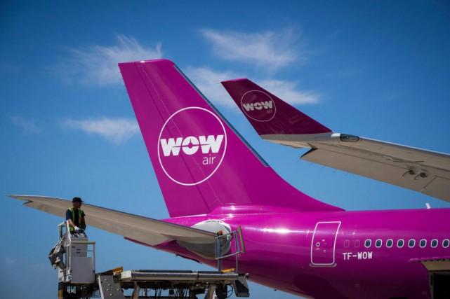 Chez Wow Air, qui relie Montréal à l'Europe... (PHOTO JOËL SAGET, AGENCE FRANCE-PRESSE)