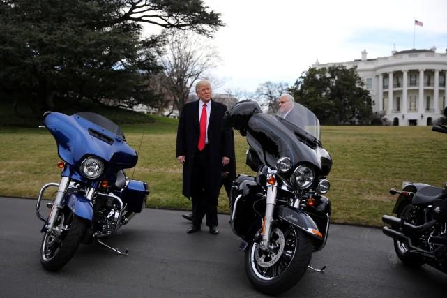 «De nombreux propriétaires de Harley Davidson prévoient de... (Photo archives, REUTERS)