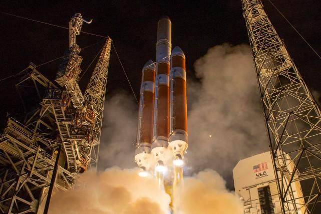 La mission deParkerest claire: devenir le premier objet... (PHOTO AFP)