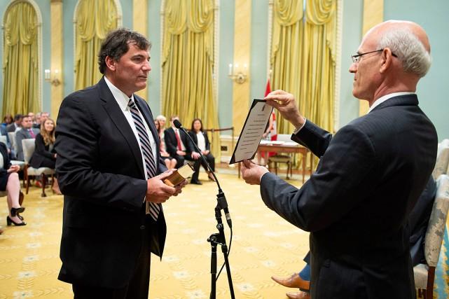 Le premier ministre Justin Trudeau a confié à... (PHOTO JUSTIN TANG, ARCHIVES LA PRESSE CANADIENNE)