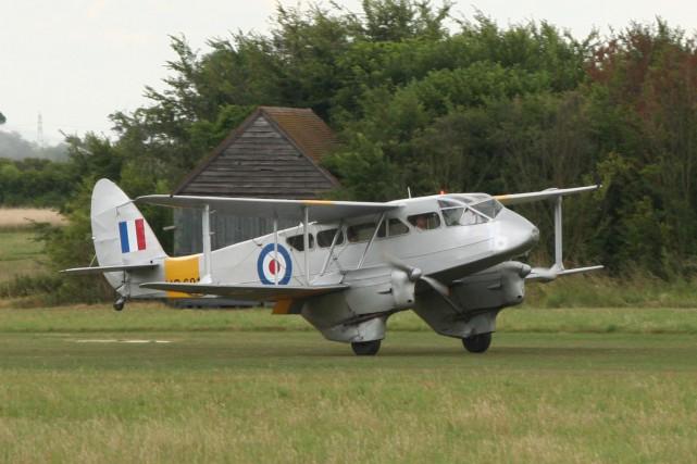 Le De Havilland Dragon Rapide a été construit... (PHOTO WIKICOMMONS)