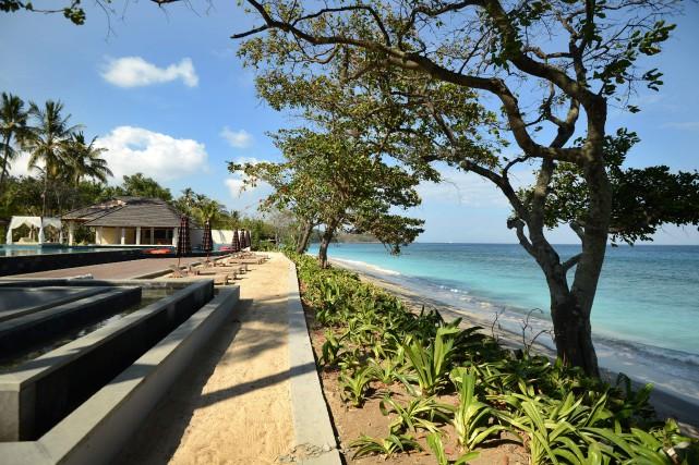 Le Holiday Resort Lombok.... (Photo Sonny Tumbelaka, Agence France-Presse)
