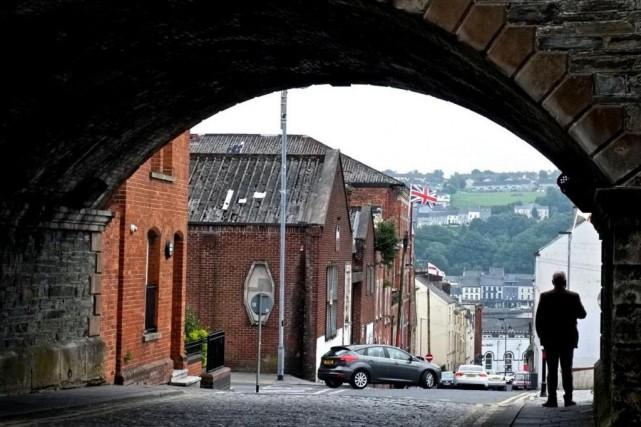 Derry pour les catholiques, Londonderry pour les protestants...... (Photo Jean-Christophe Laurence, La Presse)