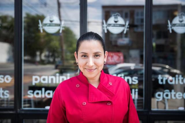 Lucila Pino, 39ans, Montréal-Nord... (PHOTO MARCO CAMPANOZZI, LA PRESSE)
