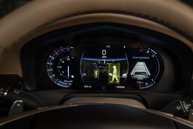Le tableau de bord de la Cadillac CT6.... (Photo Cadillac)