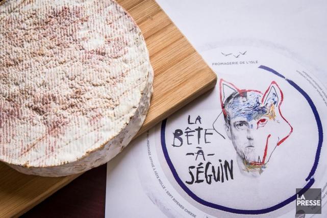 La Fromagerie de l'Île-aux-Grues s'apprête à lancer LaBête-à-Séguin,... (PHOTO OLIVIERPONTBRIAND, LA PRESSE)