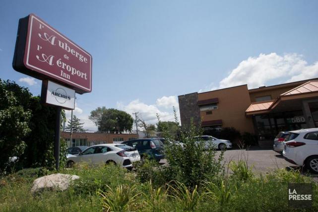 Le Resto Bar Archies, installé entre les murs... (PHOTO IVANOH DEMERS, LA PRESSE)