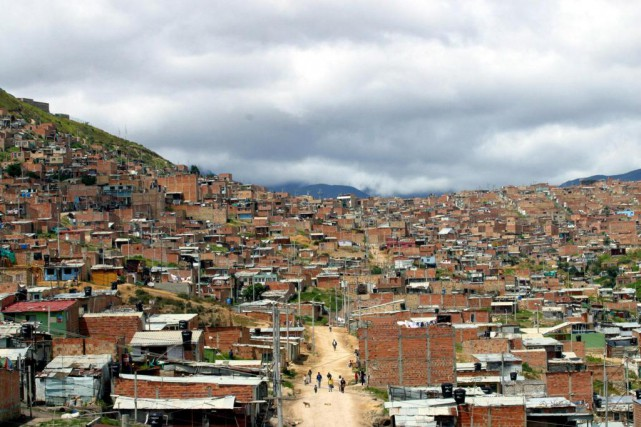 Bogotá, en Colombie.... (Photo Scott Dalton, The New York Times)