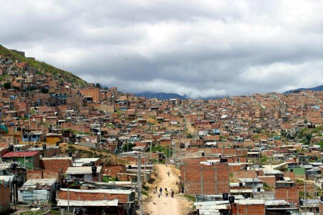 Bogotá, en Colombie.... (Photo Scott Dalton, The New York Times)