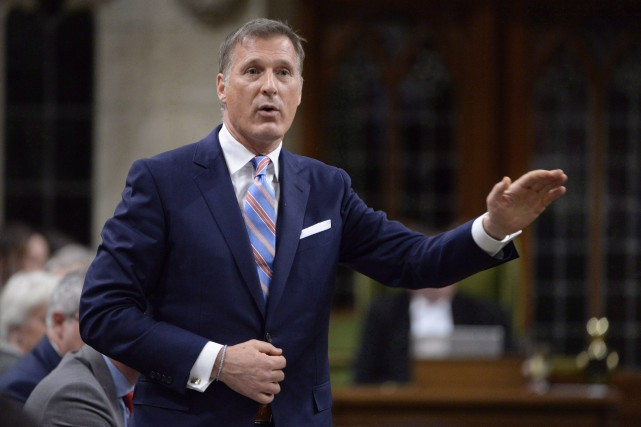 Le député conservateur Maxime Bernier... (Photo Adrian Wyld, archives PC)