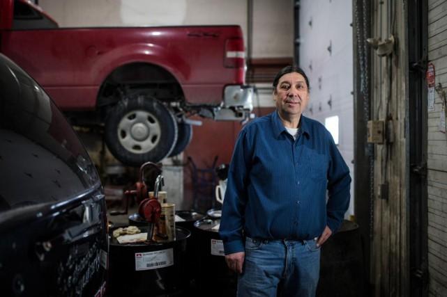 George Pachano, 56 ans, Chisasibi, propriétaire de garage.... (Photo Edouard Plante-Fréchette, La Presse)