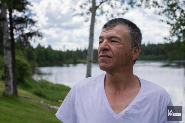 Marcel Ratté, Waswanipi, 55 ans, propriétaire d'une pourvoirie... (PHOTO OLIVIERPONTBRIAND, LA PRESSE)