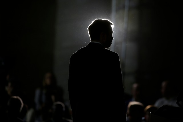 Elon Musk... (Photo Joshua LOTT, archives Agence France-Presse)