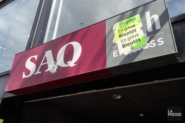 Les employés de la SAQ débraieront à nouveau mercredi