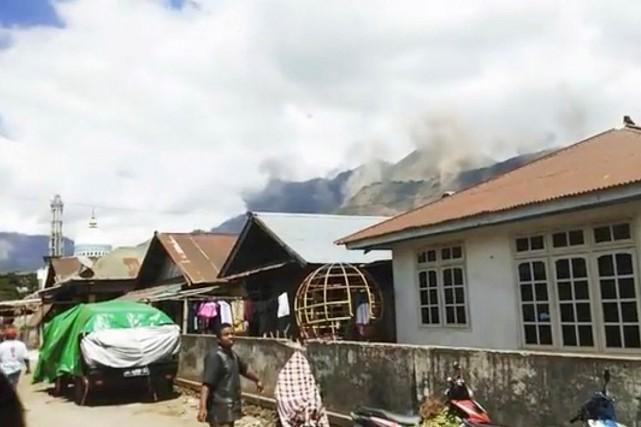 L'épicentre du premier séisme d'une magnitude de 6,3... (PHOTO TIRÉE DU COMPTE INSTAGRAM @TAOFIQNGEBLUESS VIA REUTERS)