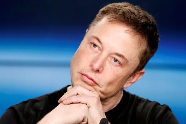 Le PDG de Tesla, Elon Musk... (Photo Joe Skipper, Reuters)