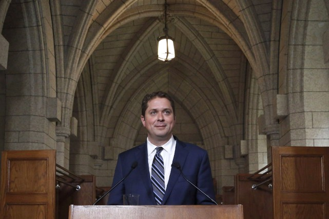 Les yeux tournés vers Andrew Scheer en vue du congrès conservateur