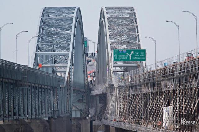 Finies les entraves sur le pont Mercier