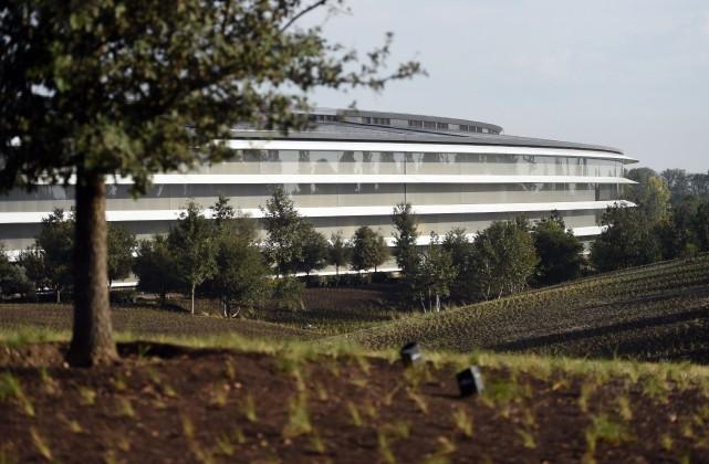Le siège social d'Apple à Cupertino, en Californie.... (photo AFP)