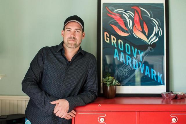 Marc-Antoine Blackburn, 37 ans, La Baie (Saguenay), propriétaire... (Photo Edouard Plante-Fréchette, La Presse)