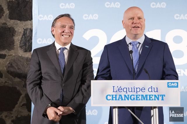 Ian Lafrenière devient officiellement candidat de la CAQ dans Vachon