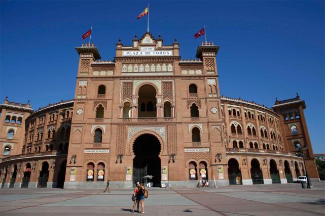 Les arènes de Las Ventas, à Madrid... (Photo Paul Hanna, archives Reuters)