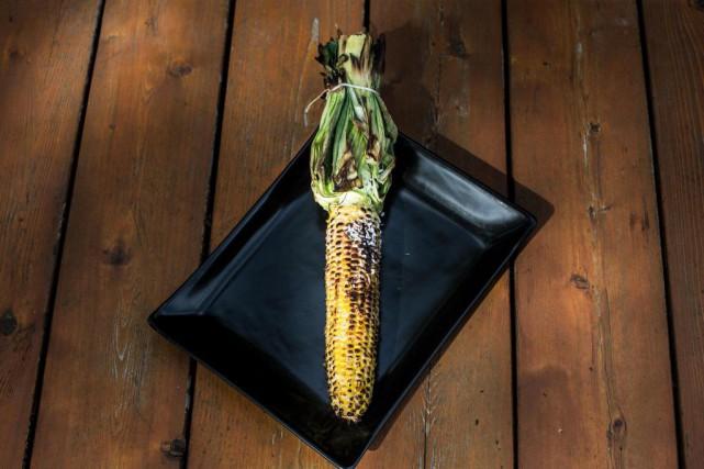 Maïs grillé érable et noix de coco... (Photo Olivier PontBriand, La Presse)