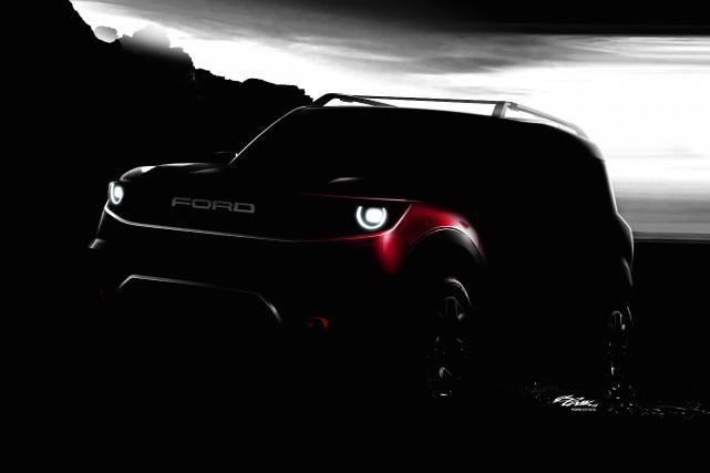 Ford prévoit lancer deux nouveaux VUS hors-route, le... (photo ford)