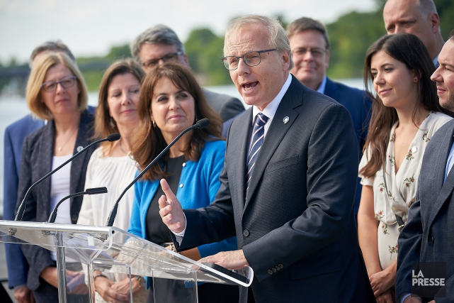 Le chef du Parti québécois (PQ), Jean-François Lisée,... (Photo André Pichette, La Presse)