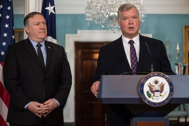 Le nouvel émissaire des États-Unis auprès de la... (photo AFP)