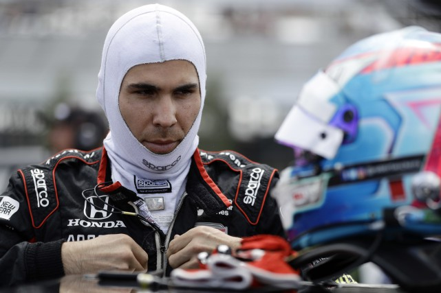 Robert Wickens... (PHOTO Matt Slocum, ARCHIVES AP)