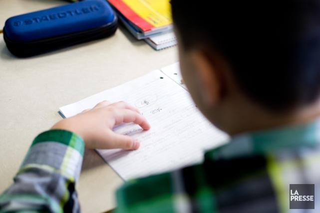 Les écoles publiques de Montréal sont pleines à... (Photo Sarah Mongeau-Birkett, Archives La Presse)