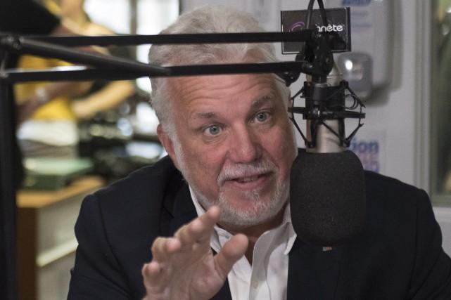 En entrevue à Planète Radio, une station de... (Photo Jacques Boissinot, La Presse canadienne)