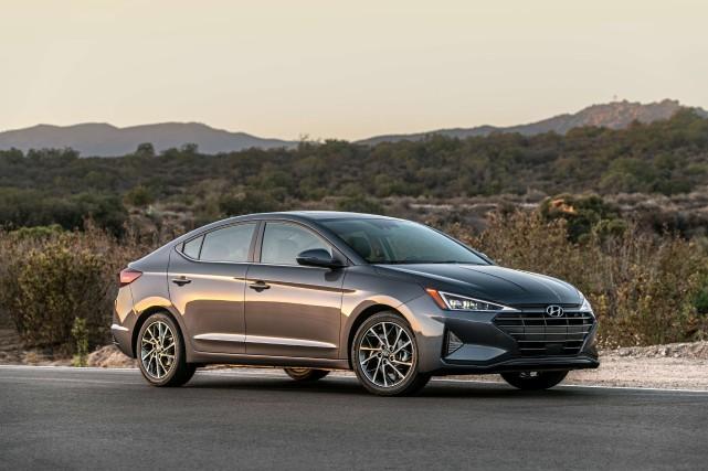 La Hyundai Elantra 2019... (Photo fournie par Hyundai)