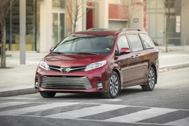 La Toyota Sienna 2018... (Photo fournie par Toyota)