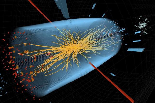 La découverte expérimentale en 2012 du boson de... (Image archives Associated Press)