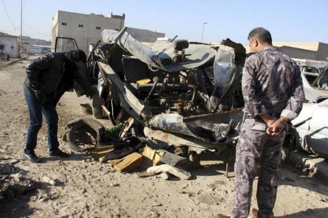 Parmi les morts figurent deux soldats des forces... (Photo Twitter @Geezwild)