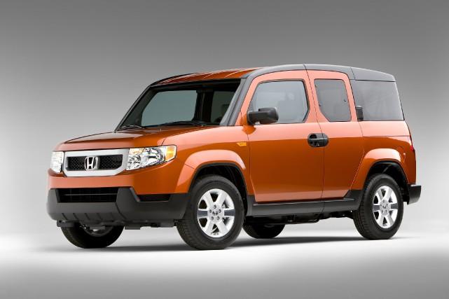 Le Honda Element EX... (Photo fournie par Honda)