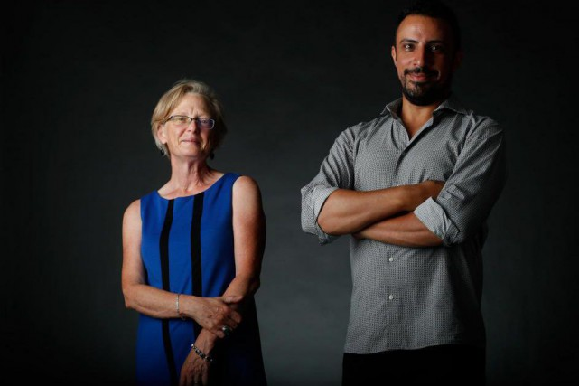 Alice Zorn et Dimitri Nasrallah... (Photo Martin Chamberland, La Presse)