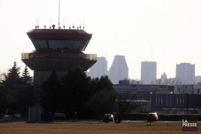 La direction de l'aéroport espère maintenant pouvoir développer... (Photo Bernard Brault, archives La Presse)