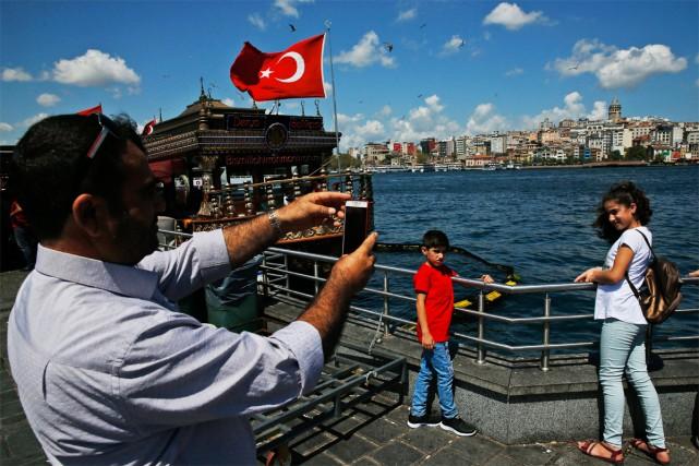 La Turquie s'est hissée au 8e rang des... (Photo Lefteris Pitarakis, archives AP)