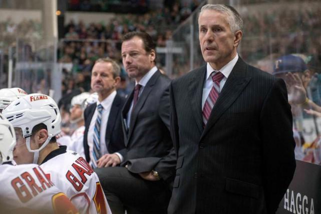 Bob Hartley, jadis aux commandes des Flames de... (Photo Jerome Miron, USA Today Sports)