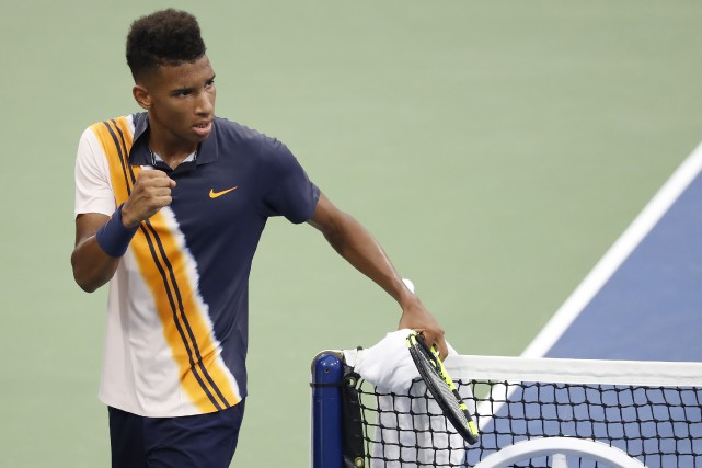 Félix Auger-Aliassime... (PHOTO GEOFF BURKE, ARCHIVES USA TODAY)