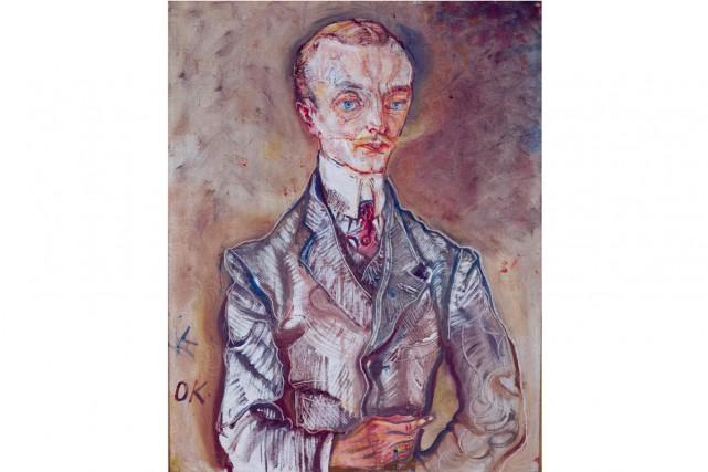 Marquis Joseph de Montesquiou-Fezensac (1910) d'Oskar Kokoschka... (Photo AFP)