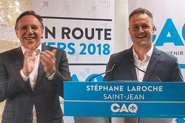 Le chef de la Coalition avenir Québec (CAQ),... (Photo tirée du site web de la CAQ)