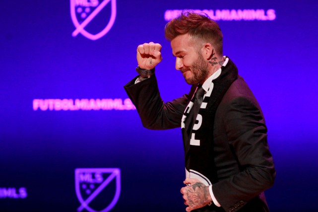 David Beckham... (PHOTO ANDREW INNERARITY, ARCHIVES REUTERS)